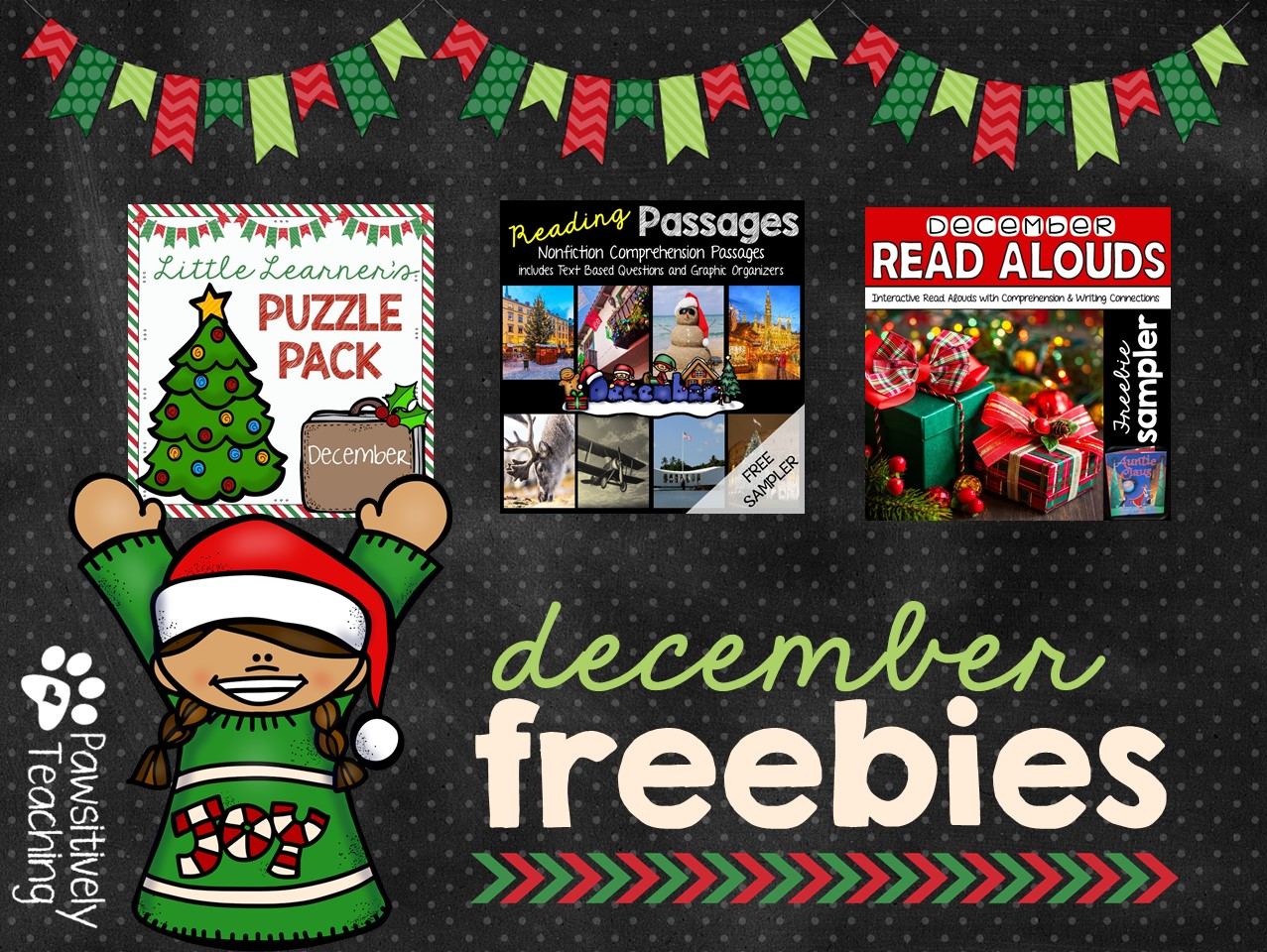 Need a Jump Start to Your December Planning?  Pick Up Some Freebies Here