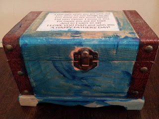 crafts, kids crafts, treasure chest, gift