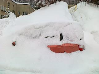 Tutaj gdzieś powinien być mój samochód