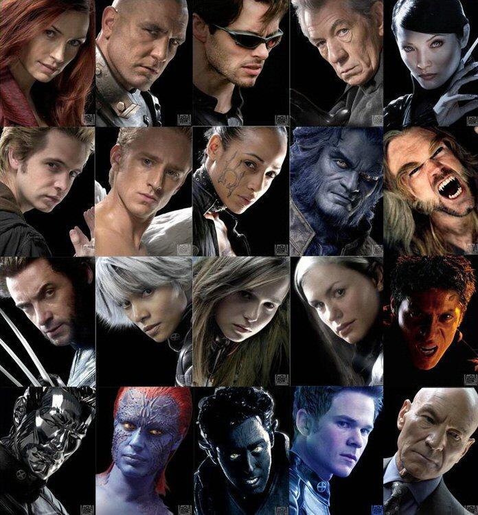 X-Men Costumes: April 2011 X Men Characters