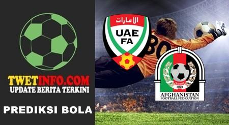 Prediksi UAE U19 vs Afghanistan U19