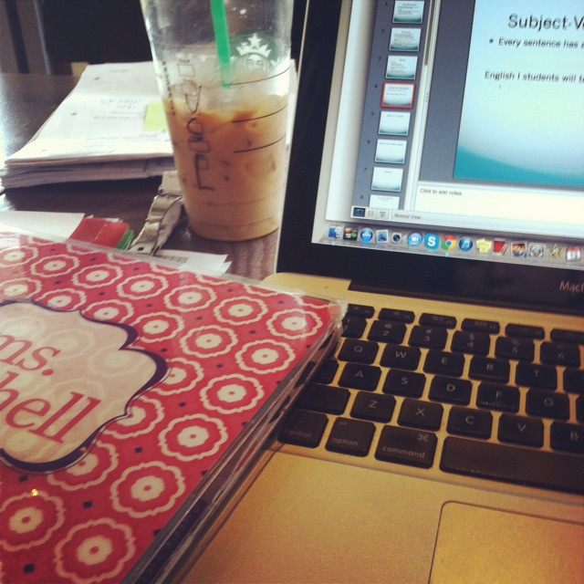 Erin Condren Starbucks