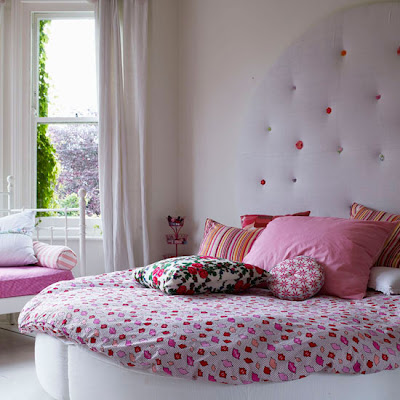 Pink bedroom decorating ideas bedroom for Bedroom decoration in bd