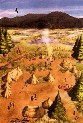 Reconstruccion del asentamiento de Kambayashi