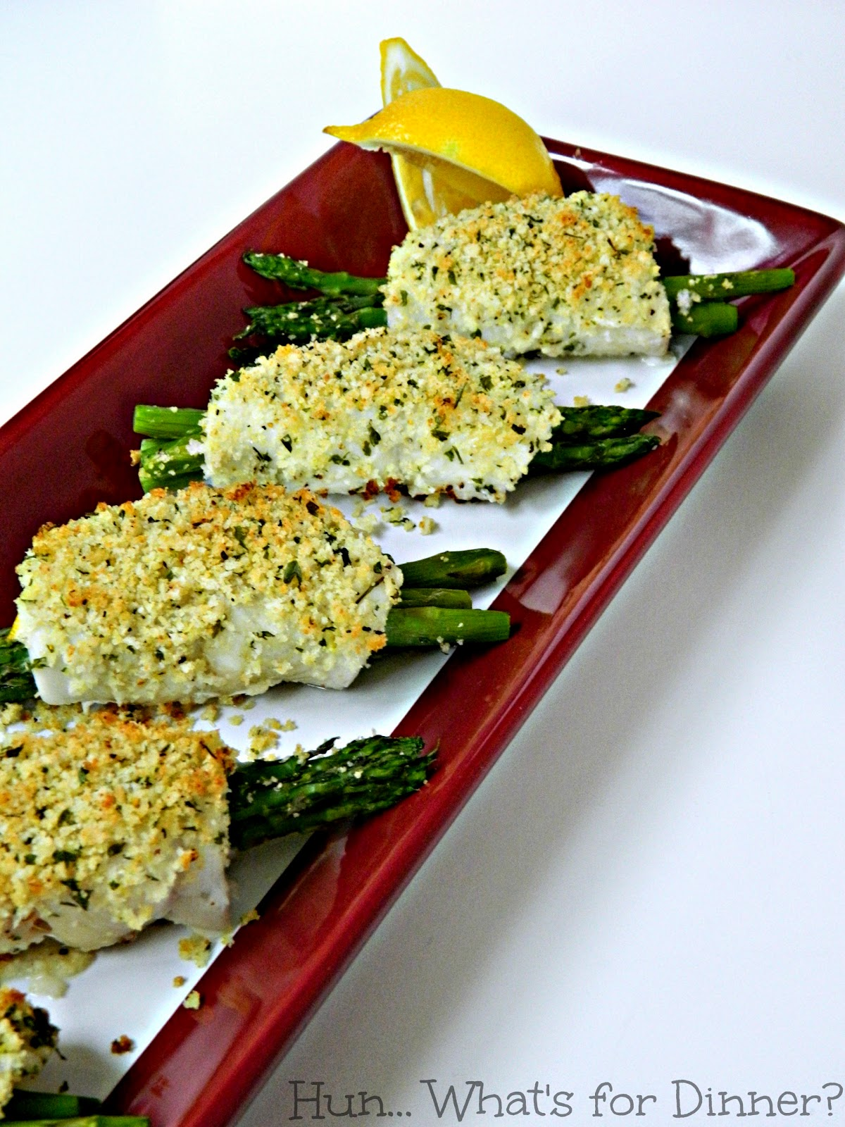 Crispy Asparagus Stuffed Sole #HighLinerSimplyFish