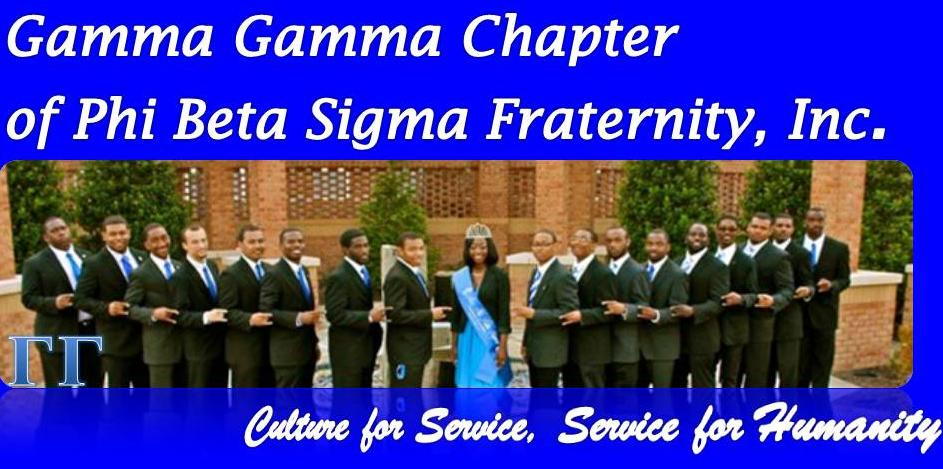The Gamma Gamma Chapter of Phi Beta Sigma Fraternity, Inc.