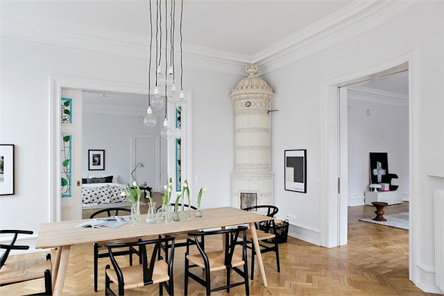 a stunning apartment in Malmo