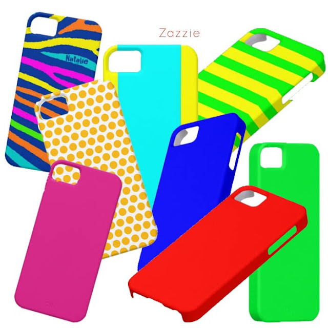 neon iPhone case from Zazzle
