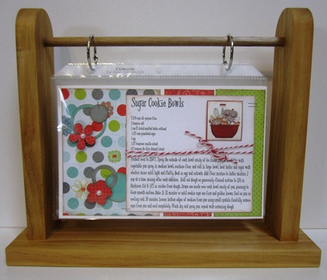 Paper Cottage: Recipe Flip Frame Class Kit to Go