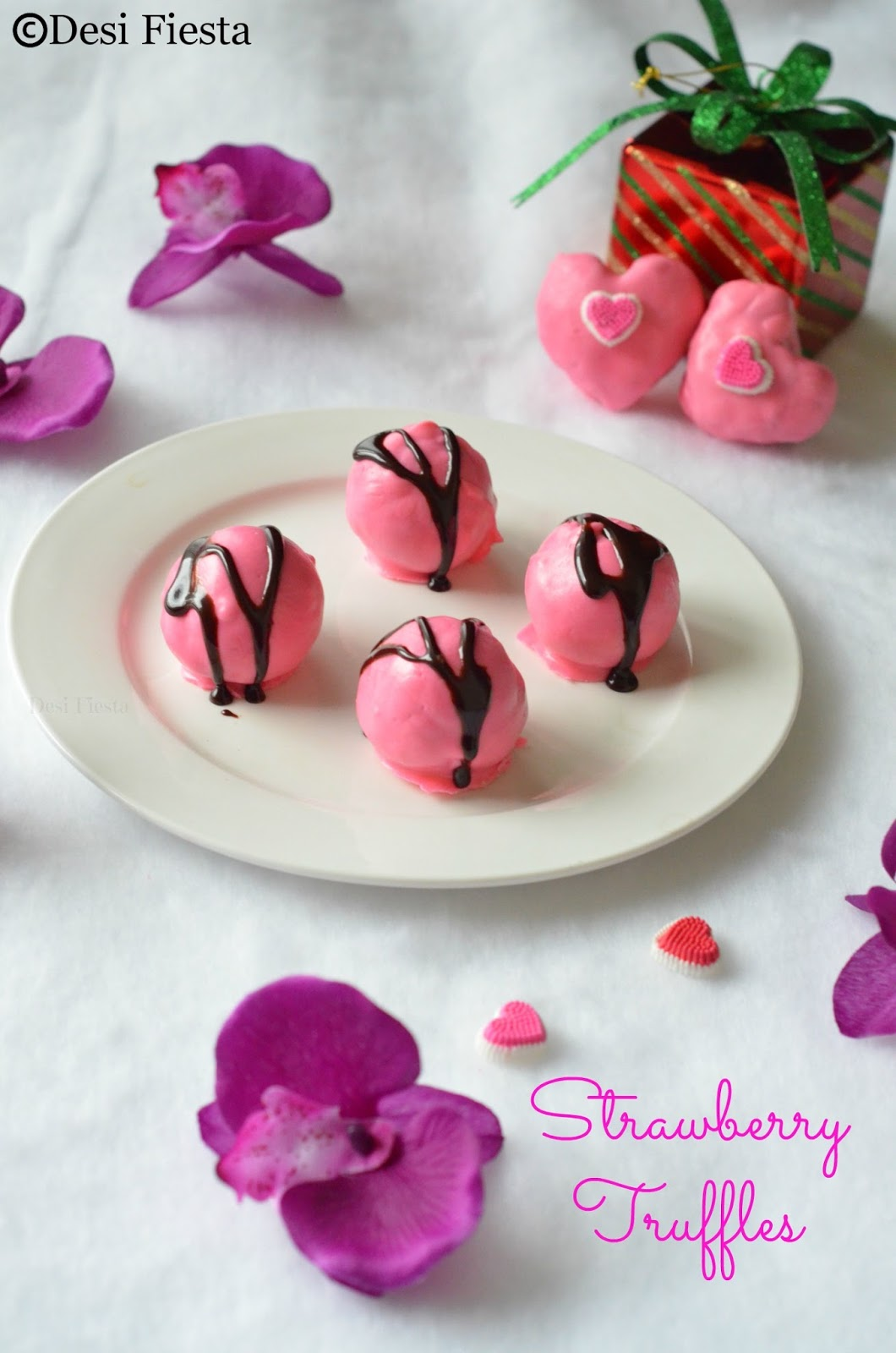 Pink dessert idea
