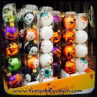 The spooky vegan halloween 2014 at michael 39 s craft stores for Michaels crafts christmas ornaments
