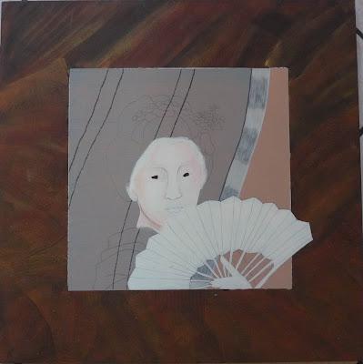 Geisha,Peinture