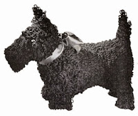 crochet toy patterns-scottie dog-loop stitch