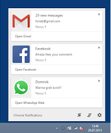 Desktop notification for android, android device notification, android notification on desktop, get android notifications on your desktop, android notifications on your desktop,