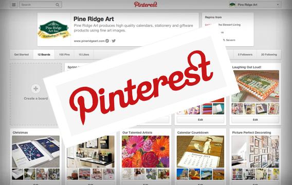 Pine Ridge Art Pinterest Page