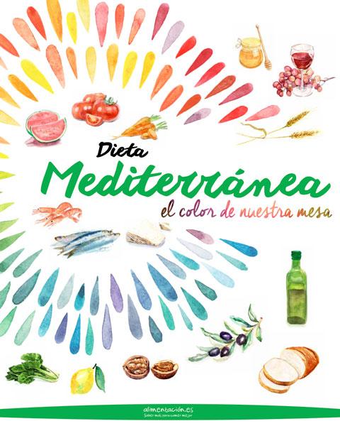La Paleta Cromática de la Dieta Mediterranea | Food Service Magazine