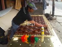 pembuatan pintu masjid nabawi