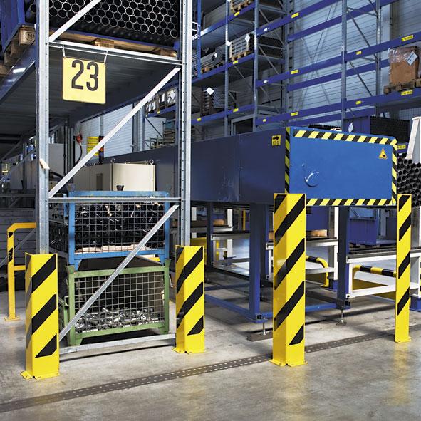 Blog de protecciones industriales y seguridad ferax for Perfiles de estanterias metalicas
