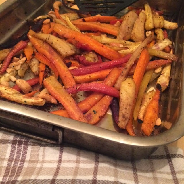 Asian roasted roots for an autumn dinner by Appetit Voyage