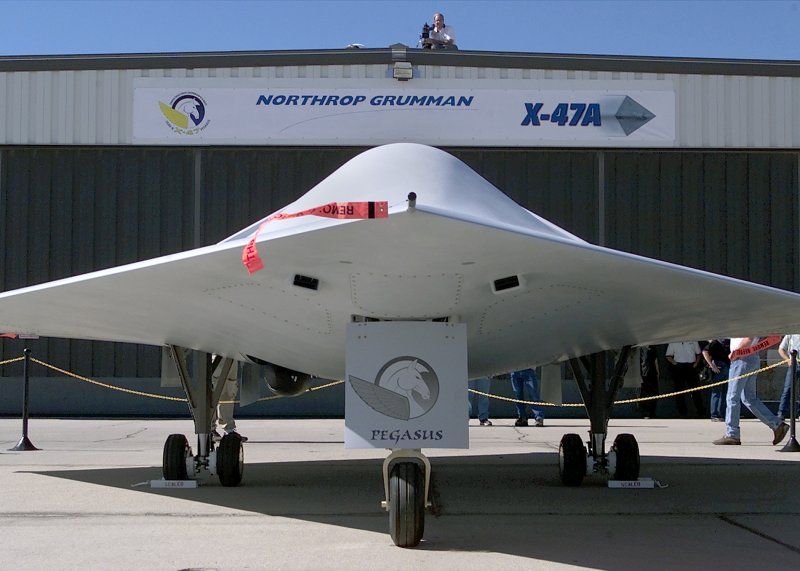 X-47 Pegasus Unmanned Combat Aerial Vehicle (UCAV)