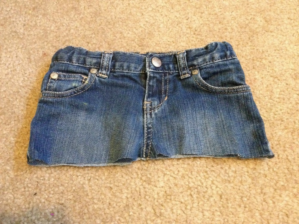 how to cut jeans so they fray