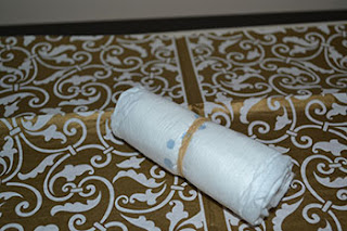 rolled diaper w rubberband | Cordier Events Antrelle Blogs