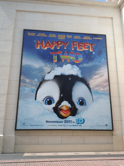 Happy Feet Two teaser billboard