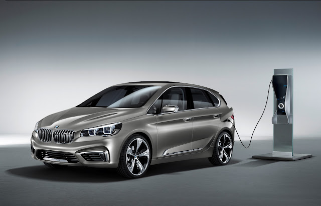 Photo of new BMW Active Tourer Concept