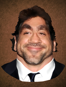 javier bardem, javier, bardem, caricatura, caricature, cartoon