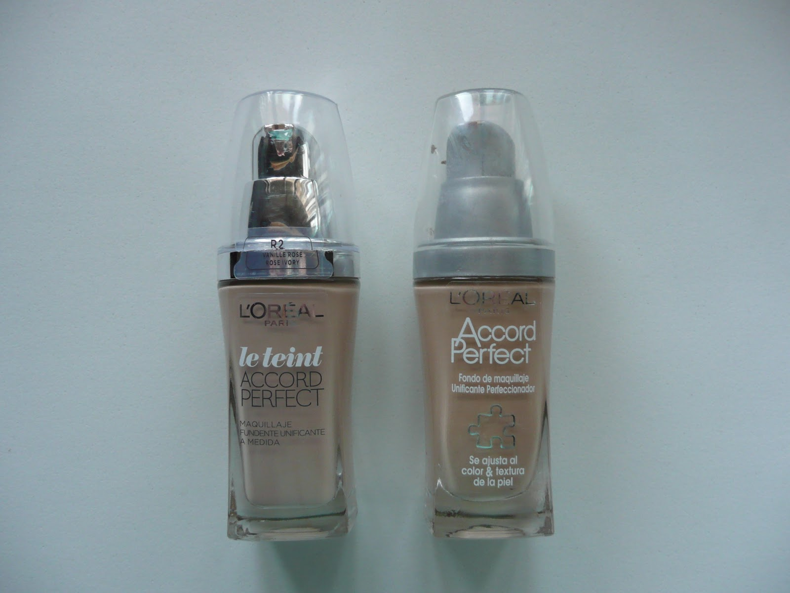 maquillaje de loreal accord perfect