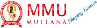 MMU Mullana syllabus - Maharishi Markandeshwar University