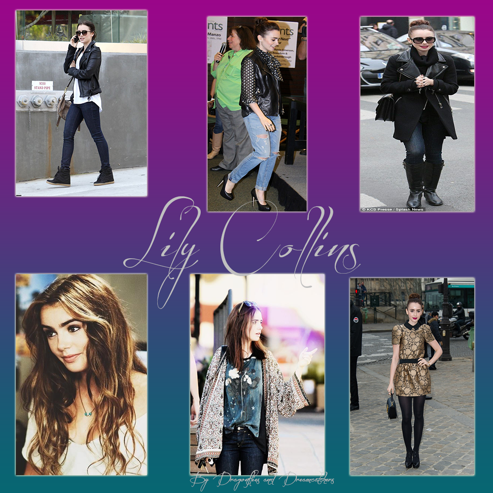 style, icon, lily collins