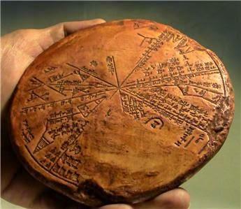 Sümer Yıldız Haritası - MÖ 3300