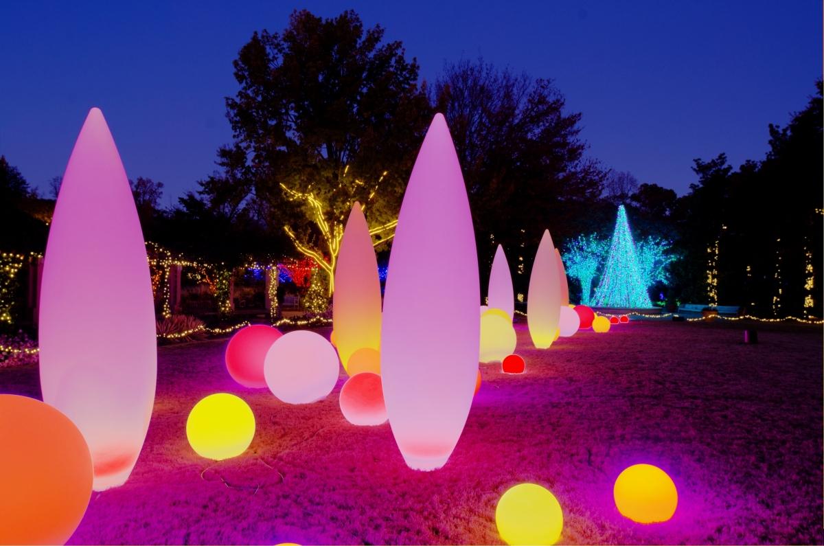 My Atlanta Mommy Garden Lights Holiday Nights At The Atlanta Botanical Garden