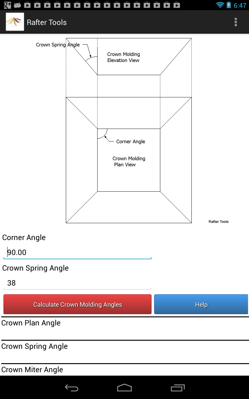 Roof Framing Geometry Polygon Crown Molding Miter Angles And Bevel