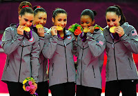 Fab Five Gold medal