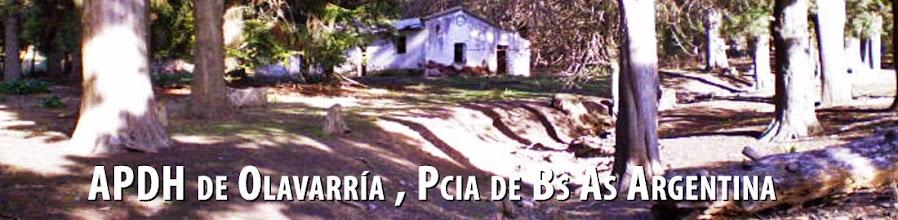 APDH de Olavarría , Pcia de Bs As Argentina
