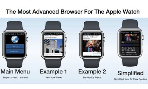 Apple Watchでブラウジングできるアプリ
