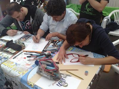 La Scuola di Fumetto Abruzzo a Teramo Comix 2012