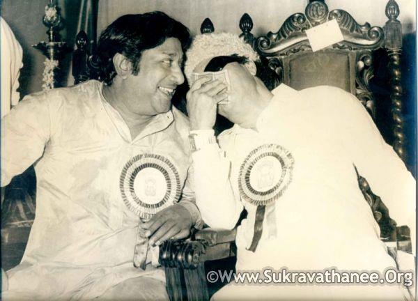 'Makkal Thilagam' MGR & 'Nadiagar Thilagam' Sivaji Ganesan 2