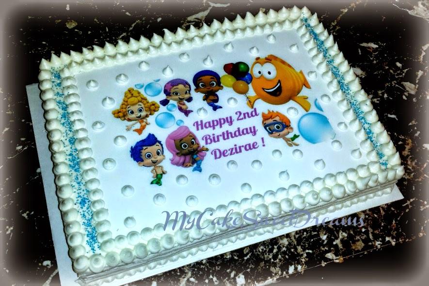 My Cake Sweet Dreams Bubble Guppies Birthday Cake