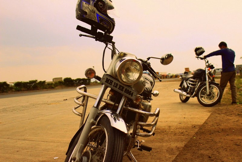 Goa trip on royal enfield thunderbrd & electra