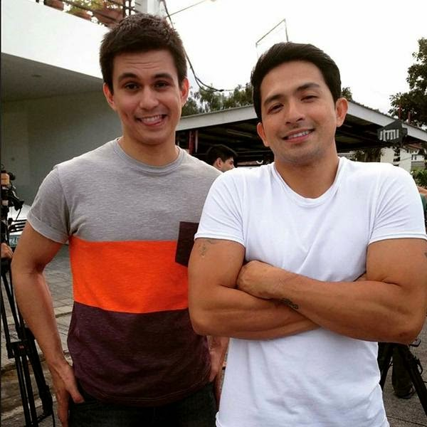 OMG! Tom Rodriguez and Dennis Trillo reunite and relive their gaysome characters on tv