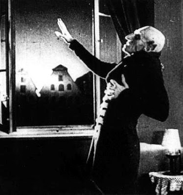 Nosferatu: And once again former NYC Mayor and Presidential Candidate Rudy Gulianni burns away in the light of the sun!