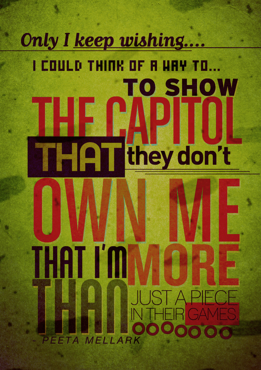 Quotes From Hunger Games Series. QuotesGram