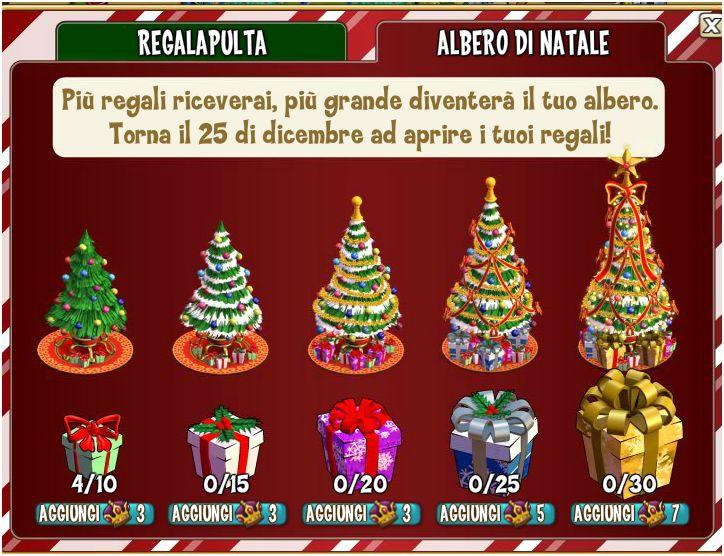 Castleville come funziona l albero di natale - Porta portese regali ...