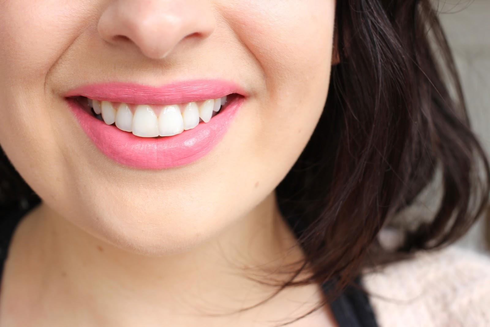 Topshop Lipstick in Macaroon swatch