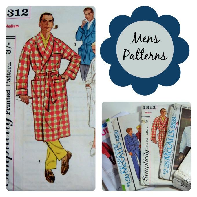 5 Mens Vintage Sewing Patterns ⋆ Lazy Daisy Jones