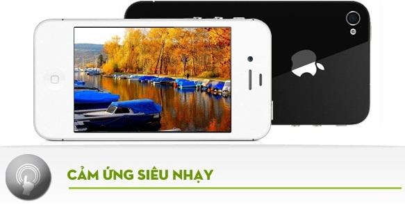 hkphone 4s 3g sở hứu cảm ứng siêu nhạy