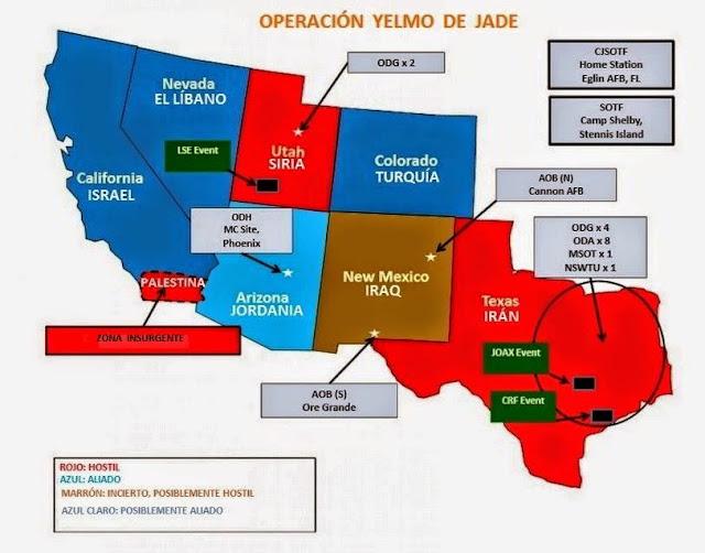 Operación, Yelmo de Jade, illuminati
